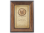 MCS 4x6 Walden Woods Retreat Walnut Frame