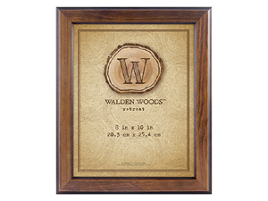 MCS 8x10 Walden Woods Retreat Walnut Frame