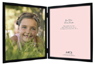 MCS Willow Wood Double Vertical Picture Frame For 8x10