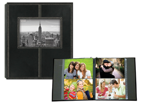 Pioneer 2 Up Sewn Frame 160 Pocket 4x6 Photo Album