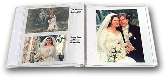 Pioneer Wf 5781 Wedding Album Refill Pages