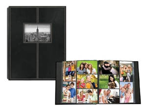 Pioneer 5 Up Sewn Frame 300 Pocket 4x6 Photo Album