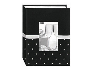 Pioneer CEM-100 Embroidered Fabric 4x6 Photo Album