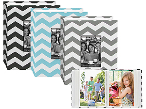 Pioneer 4x6 Chevron Cloth Album w/Frame