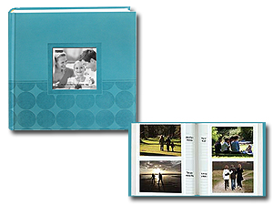 Pioneer DA-200EC 4x6 Circles Embossed Photo Album