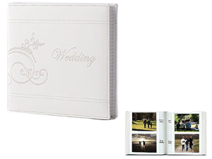 Pioneer Da 200empw 4x6 Embroidered Wedding Photo Album