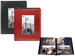 Pioneer FRM-246 Sewn Photo Album w/Frame Cutout