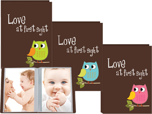 Pioneer I-46BO Owl Design Poly Photo Album - Assorted