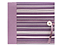 Pioneer MB-88FSH 8x8 Striped Fabric Memory Book