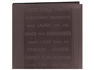 Pioneer MB-88WRDS 8x8 Words Scrapbook