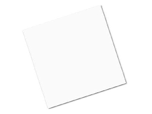 Acid Free Paper 12x12 Unpunched White (100 Pack)