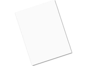 Lineco White Sign Board 8-1/2x11 (100 Pack)