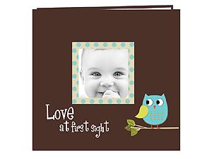 Pioneer 12x12 Baby Owl Photo Frame Scrapbook