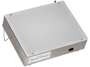 Porta-Trace 10x12 Stainless Steel 3 LED Lightbox