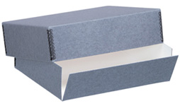 Lineco Gray Museum Storage Box For 22x30 (3 Inch Depth)