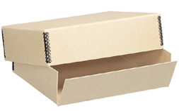 Lineco Tan Museum Storage Box For 11x14 (1-1/2 Inch Depth)
