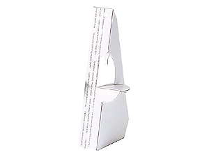 Lineco Easel Backs in White 5 Inch (500 Box)