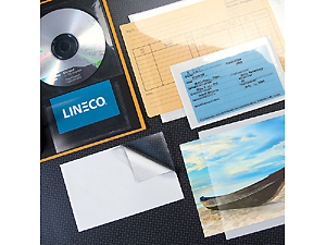 Lineco Peel Stick Clear Pockets 4x6 (10)