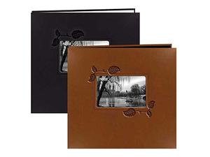 Pioneer MB-10EI Ivy Frame Leatherette 12x12 Scrapbook