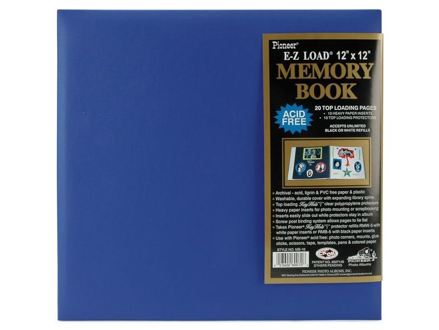 Pioneer Mb 10p 12x12 Pastel Memory Book