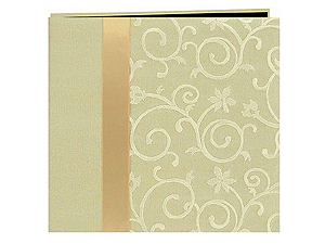 Pioneer MB-10SR Scroll Fabric Ribbon 12x12 Scrapbook