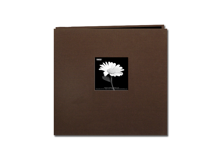 Pioneer Mb 10cbfe 12x12 Earth Tones Fabric Memory Book