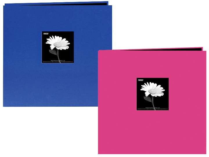 Pioneer Mb 10cbfs 12x12 Bright Fabric Memory Book