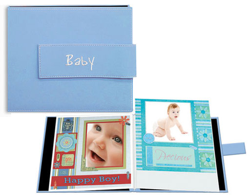 Pioneer Mb88expb Expressions 8x8 Baby Scrapbook