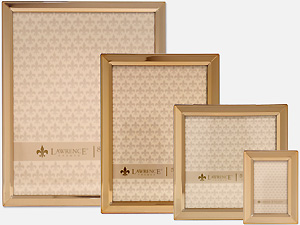 Lawrence Classic Bevel Gold Metal Picture Frames