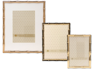 Lawrence Gold Metal Bamboo Frames