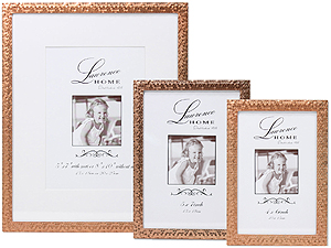 Lawrence Rose Gold Shimmer Metal Frames