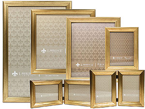 Lawrence Sutter Burnished Gold Frames