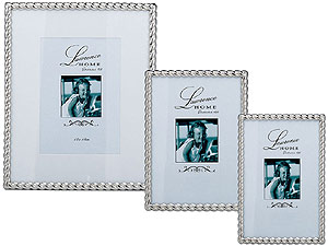 Lawrence Silver Metal Rope Frames