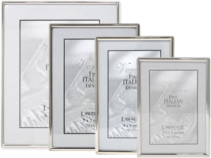 Lawrence Simply Silver Metal Picture Frames