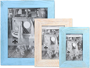 Lawrence Sarasota Weathered Wood Picture Frames