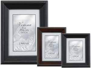 Lawrence Verona Tuxedo Wood Picture Frames