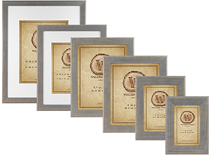 MCS Walden Woods Retreat Weathered Gray Picture Frames