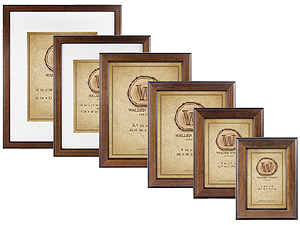 MCS Walden Woods Retreat Walnut Picture Frames