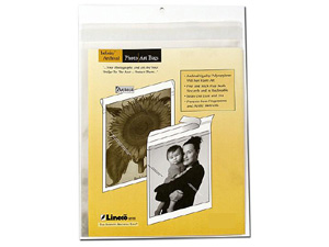 Lineco 8x10 Photo / Art Bags (10 Pack)