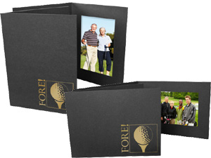 Golf Fore Event Photo Folders For 4x6 (25 Pack)