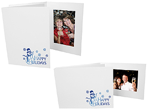 Happy Holidays 4x6 Event Photo Folders (25 Pack)