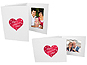 Valentine's Day 5x7 Event Photo Folders (25 Pack)