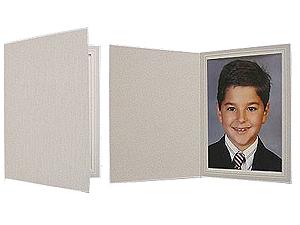 Gray Woodgrain Photo Folders For 8x10 (25 Pack)