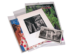 Print File 8-1/2 x11 Polyethylene Bags (100 Pack)