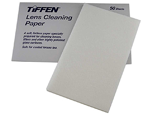 Tiffen Lens Cleaning Paper (Pack of 50 Sheets)