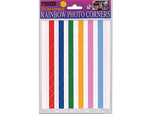 Pioneer Rainbow Photo Corners