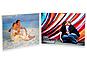Saflin Extra Sturdy Bent Acrylic Frame 5x7 Double Horizontal
