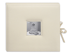 Pioneer SBX-12W 3-Ring 12x12 Wedding Scrapbook Box