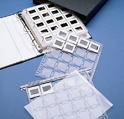 Saf-T-Stor 35mm Rigid Slide Storage Pages