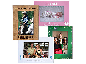 Custom Printed Full Color Easel Frames For 4x6 Single Frames